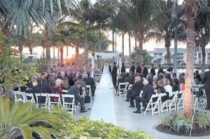 Crowne Plaza Hollywood Beach Is Hosting A Wedding