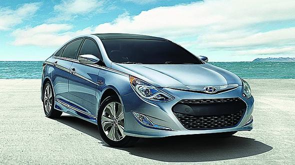 Hyundai Sonata Hybrid Has Improved Blue Drive