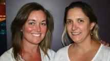 Meredith Kunzke y Carolina Angel /PTSA