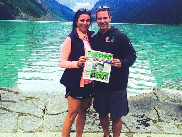 Read in Banff, Canada