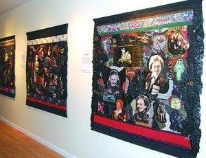 Holocaust Heroes: Fierce Females, an exhibit by Linda Stein