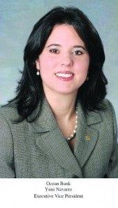 Ocean Bank's Yuni Navarro earns statewide Glass Ceiling Award
