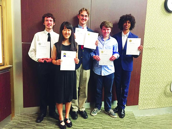 Palmetto Senior students swept the awards