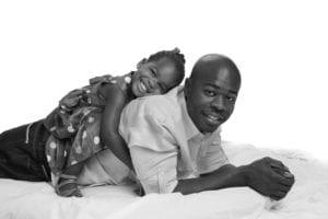 Fathers Day photo bW