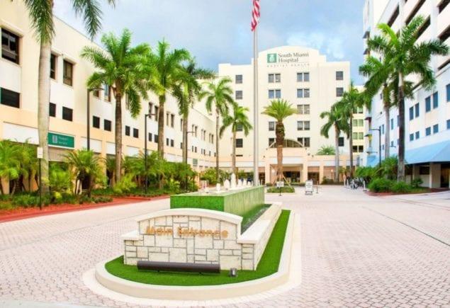 Dominion Builders renovates main entrance at South Miami Hospital