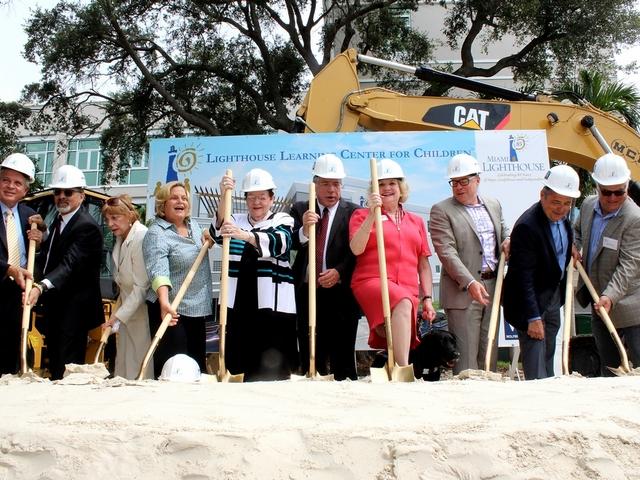 Miami Lighthouse breaks ground for Learning Center for Children