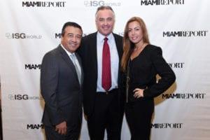 L to R: Pablo Rodriguez, Craig Studnicky and Liliana Pardo