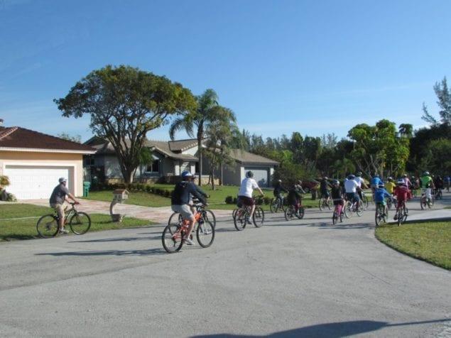 Annual 'Tour de Parks' Bike Ride brings out community