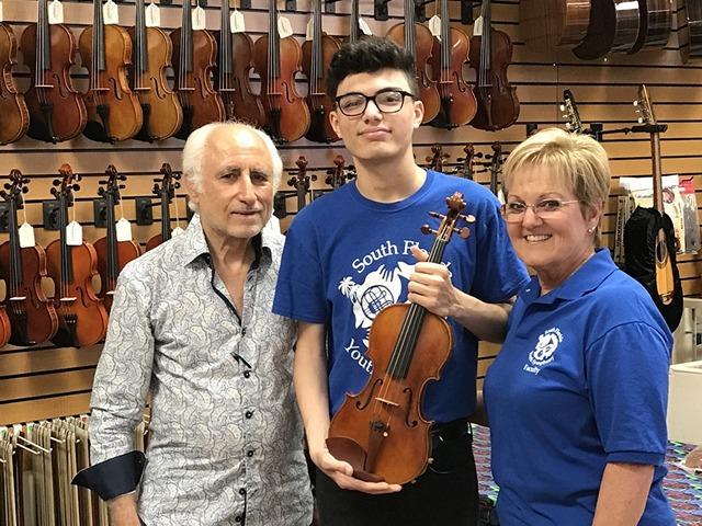 Youth Symphony's Yosvani Rodriguez to attend prestigious music academy