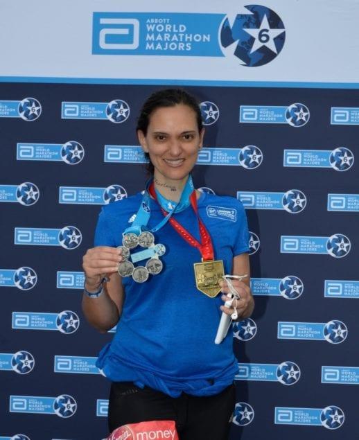 Local doctor completes all six World Marathon Majors