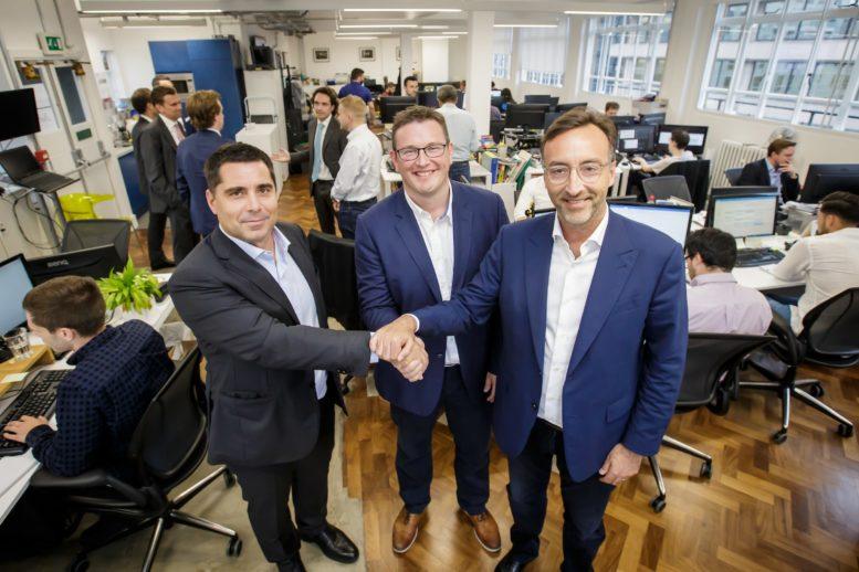 L-R: Riccardo Silva, Ben Speight, Marco Auletta