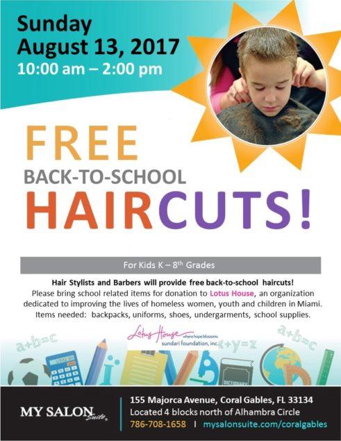 Back To School Haircut A Thon Miamis Community News