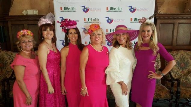 Hispanic Chambers Women's Society celebrates Fashionably Pink Luncheon