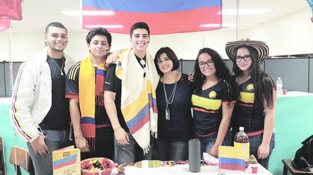 Cutler Bay High School students celebrate Hispanic Heritage Month