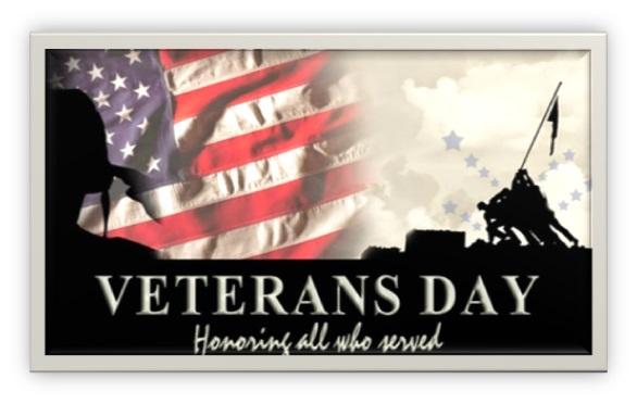 Honoring Veterans!