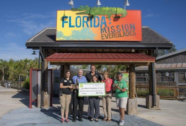Miami Whole Foods Market Stores donate almost $40,000 to Zoo Miami Foundation