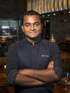 """Vijayudu """"Vijay"""" Veena, Executive Chef of Jaya at The Setai, Miami Beach"""