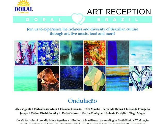 Doral muestra se amor por Brasil a través del arte y diversión