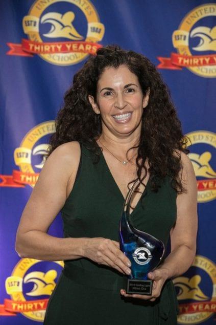 Ocaquatics owner Miren Oca receives Guiding Light Award