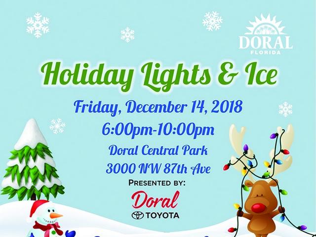 December in Doral brings snow, Santa, and holiday cheer