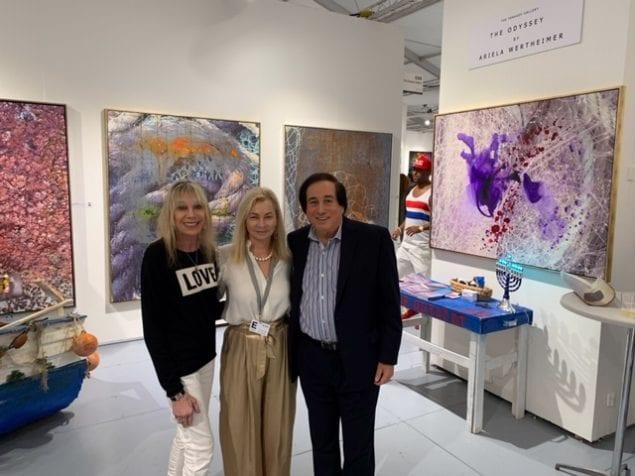 Renowned Israeli artist, Ariela Wertheimer, featured at Art Basel 2018 event