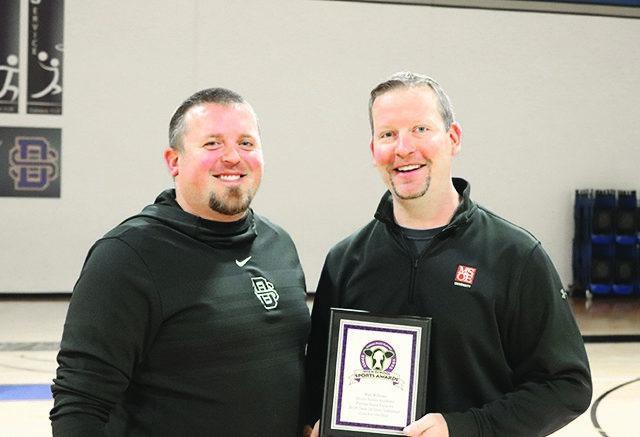 Divine Savior Volleyball Coach Willems receives statewide award