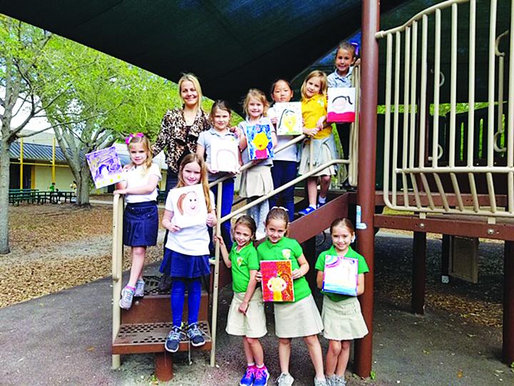 Pinecrest Elementary School teacher has first grade girls thinking in new ways