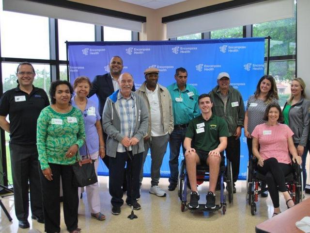 Encompass Health Rehabilitation Hospital of Miami unites for