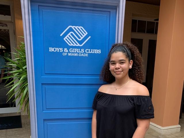 Tatiana Hernandez named as 2019 Boys & Girls Clubs Youth of the Year