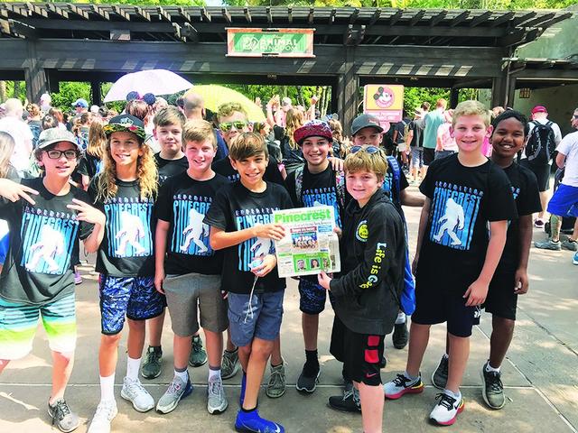 Pinecrest Elementary 5th Graders Invade Animal Kingdom