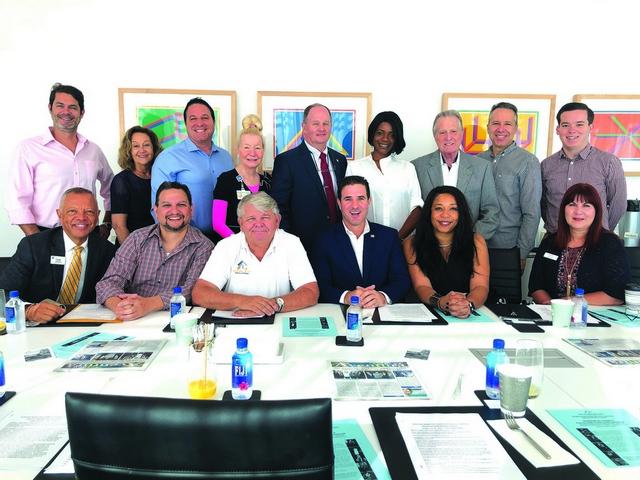 LEVEL THREE venue hosts Aventura Marketing Council Board Members