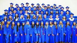 Divine Savior Academy graduates.