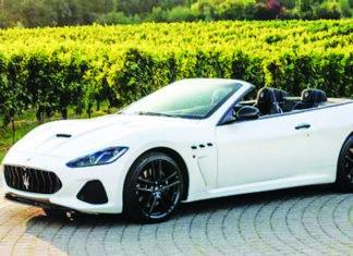 Maserati GranTurismo convertible embodies Italian design